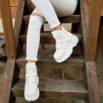 SNEAKERS LACCI PELLE BIANCO LONDON1 JAMMERS LONDON (3)