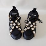 SNEAKERS NERA E ORO STRASS SOFY 1 JAMMERS LONDON (2)
