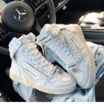 SNEAKERS LACCI PELLE BIANCO LIAD JAMMERS LONDON (3)